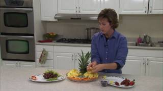 Snack Recipes : Making Fruit Trays