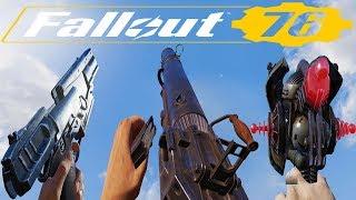 Fallout 76 - All Weapons / Gun Sounds [Unlocked So Far - Part1]