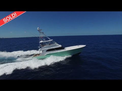 Sculley Custom Carolina - Repowered, Gyro Stabilized video