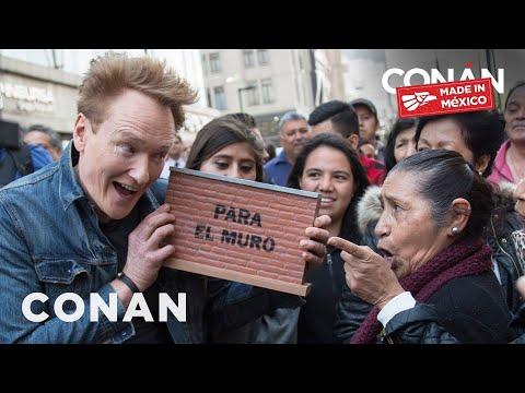 Conan v Mexiku #2: Sbírka na stavbu zdi a role v telenovele