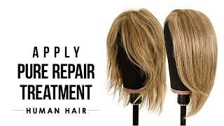 HOW-TO: Apply Pure Repair Restoring Balm - Human Hair Care