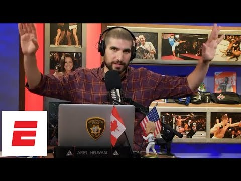 Jimi Manuwa describes scene at Logan Paul-KSI fight | Ariel Helwani's MMA Show | ESPN