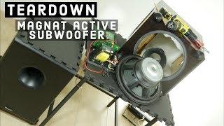 Teardown Magnat Beta Sub 30A active subwoofer - What's Inside?