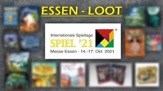 ESSEN - LOOT - Spielemesse Essen 2021 - Brettspiele