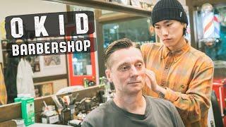💈 Relaxing Haircut Hairwash & Style 부산 이발소 | OKID Barbershop Busan South Korea