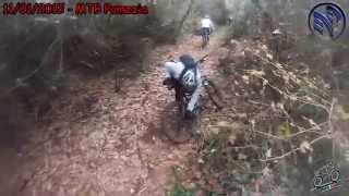 preview picture of video 'MTB Pomezia - Tenuta Vaselli 11/01/2015'