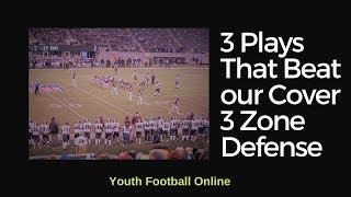 3 Plays That Beat our Cover 3 Zone