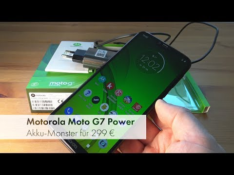 Motorola Moto G7 Power | Akku-Monster mit Mittelklasse-Hardware [Deutsch]