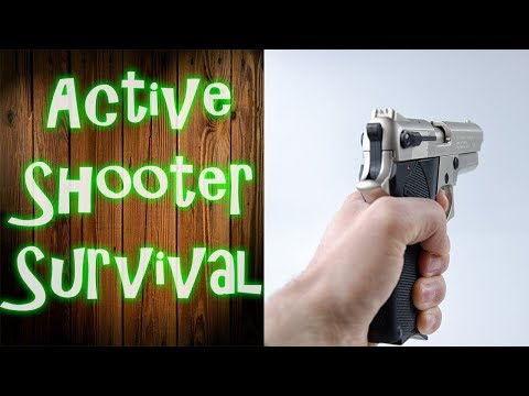 Active Shooter Survival Strategies