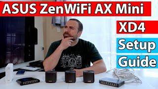 Asus ZenWiFi AX Mini XD4 Setup Guide   How to Connect Mesh WiFi 6