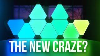 Nanoleaf Aurora RGB Light Panels - New Craze?