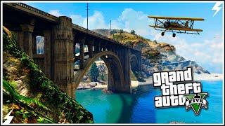 GTA V-Самые Крутые Полеты под Мостами #12 (GTA 5 Трюки)