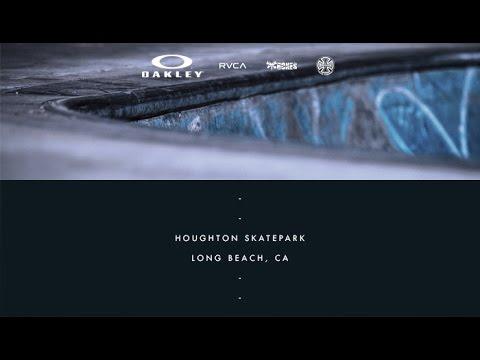 David Gonzalez | On Location: Houghton Skatepark - Long Beach, CA