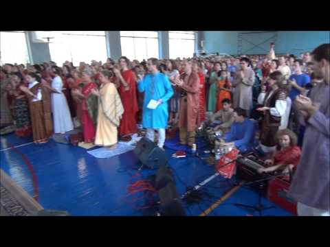 Welcoming ceremonia Shri Mataji - Shri Ganesha Puja in Ukraine - Kiev - 2015