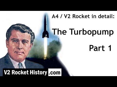 A4 / V2 Rocket in detail: Turbopump