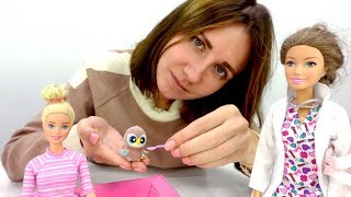 Видео для детей. Игры в куклы. Новый питомец Барби