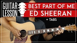 Best Part Of Me People Guitar Tutorial 🎸 Ed Sheeran Yebba Guitar Lesson |Fingerpicking + No Capo|