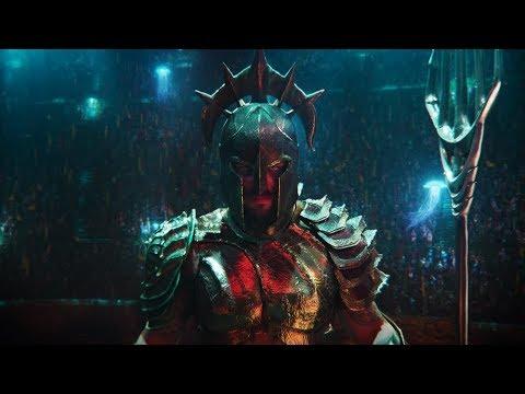 Aquaman vs Orm. The Ring of Fire   Aquaman [4k, IMAX]