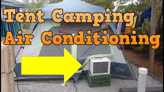 Keep your tent cold in hot weather!