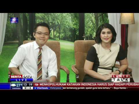 Lunch Talk: Debat Pilgub Di Mata Netizen #1