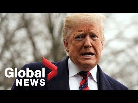 Trump comments on North Korea,Buzzfeed report, government shutdown (видео)