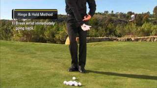 Phil Mickelson - Chipping Hinge & Hold Method