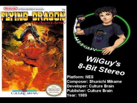 nes flying dragon - the secret scroll cool
