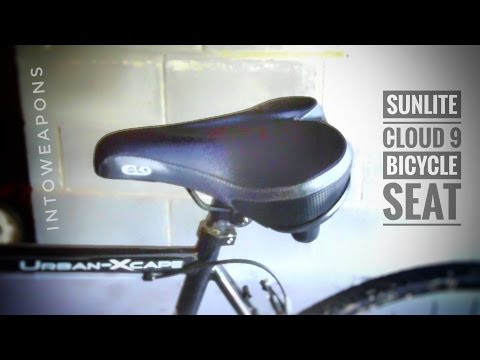 Sunlite Cloud-9 Bicycle Suspension Cruiser Saddle / Bike Seat