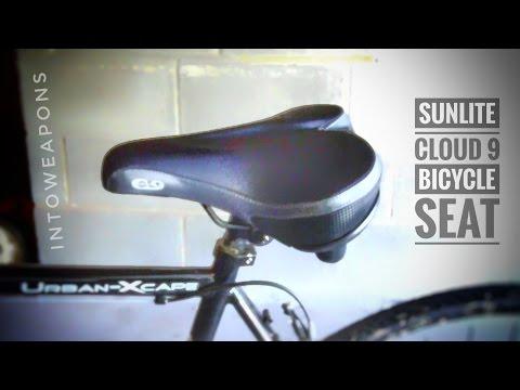 Sunlite Cloud-9 Bicycle Suspension Cruiser Saddle / Bike Seat