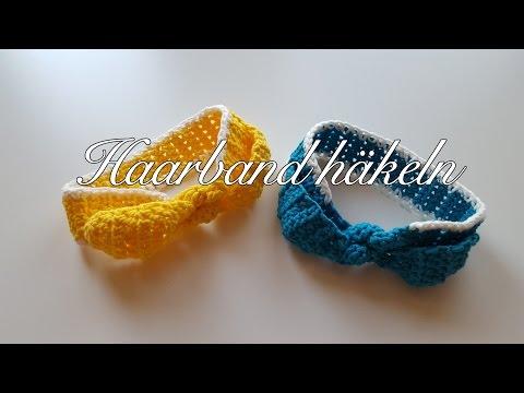 Haarband häkeln für Kinder - MyBoshi Hakui Haarband Häkelanleitung