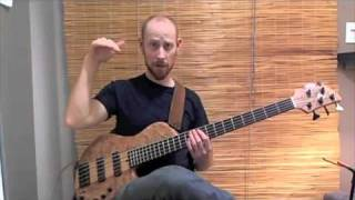 (Music Bass) Slap Technique   Victor Wooten Style