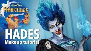Disney Hades Makeup + Wig + Teeth Prosthetics Tutorial
