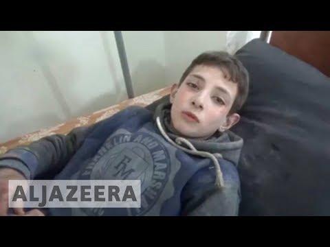 Syria and Russia continue to bombard Idlib province