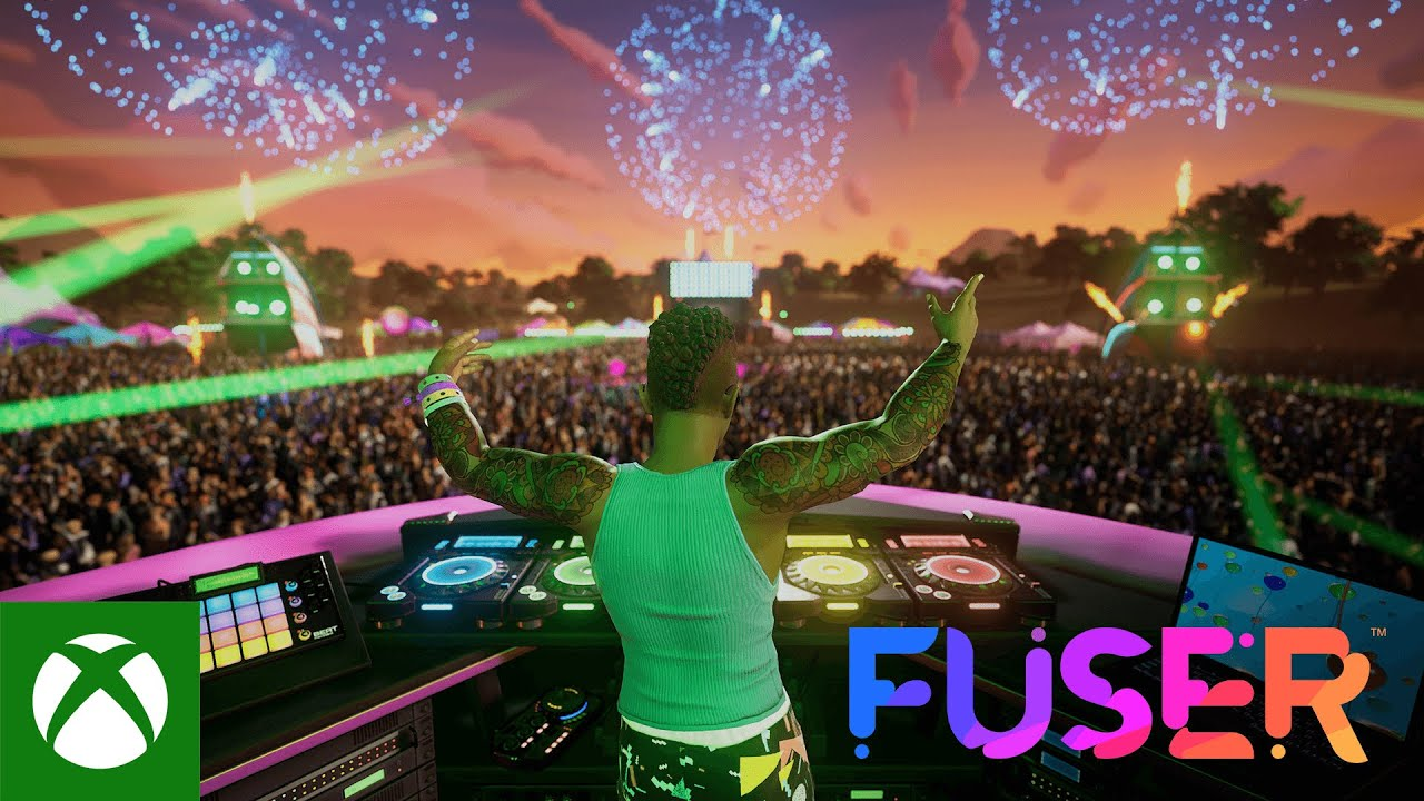 Геймплейный трейлер игры Fuser