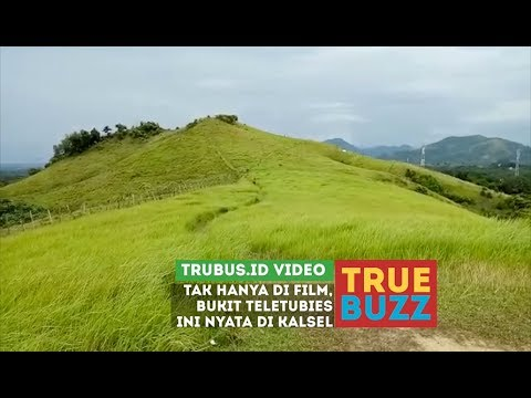 Bukit Teletubies Ternyata Ada di Indonesia