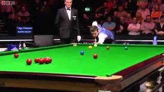 MARK SELBY vs STEPHEN LEE  UK MASTERS SNOOKER 2012  FINAL FRAME10