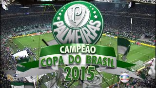 CHUPA IMPRENSA DE GAMBÁ - PALMEIRAS CAMPEÃO DA COPA DO BRASIL 2015