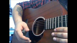 Seth Avett - Save Part of Yourself Tutorial by Brandi Carlile