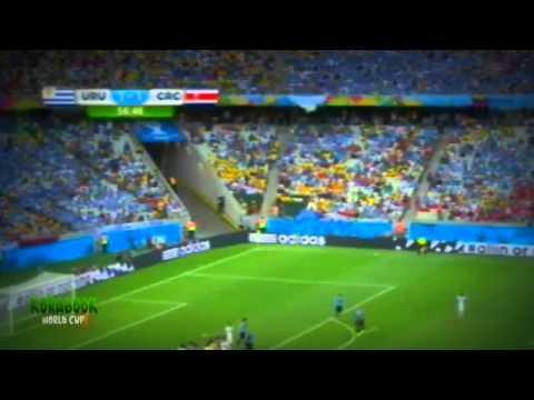 بالفيديو أهداف مباراة كوستاريكا وأوروجواي 14/9/2014