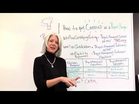 Getting Your Project Management Certification - YouTube