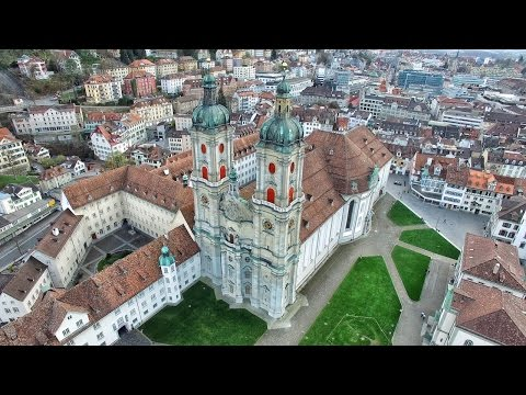 St. Gallen in 4K | Beautiful Switzerland