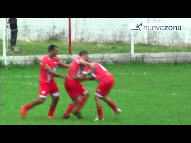 El gol de Independiente sobre VFBC (Canal 2 Hernandarias y P. Blancas)
