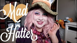 MAD HATTER HALLOWEEN MAKEUP TUTORIAL | Diy Costume