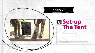 Event Setup with Tent- Ink Link Marketing Brand Ambassador Video