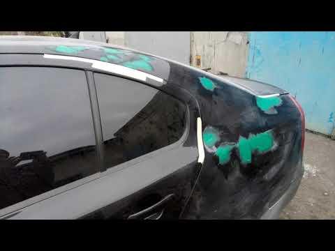 Skoda Oktavia А5  - ремонт и покраска! кузовной ремонт!
