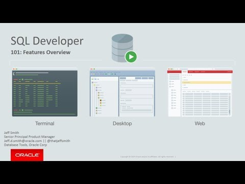 Oracle SQL Developer: Product Demonstration