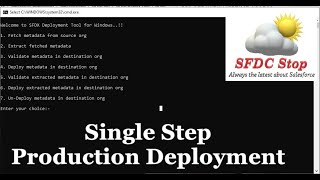 Introduction to SFDX Deploy Tool for Windows | Salesforce Integration Tutorial Series