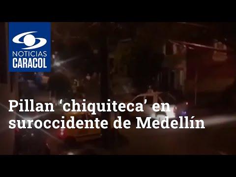 Policía intervinó «chiquiteca» en Medellín