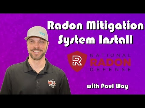A quick look into the process of Installing a Radon Mitigation System.Radon is a naturally occurring...