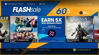 PS4 FLASH SALE 2018 March ($1.19 PS4 EASY PLATINUM
